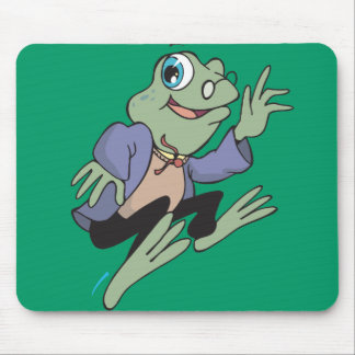 Professor Frog Mouse Pad