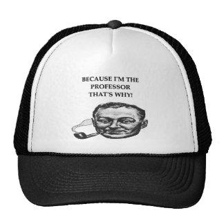professor mesh hats