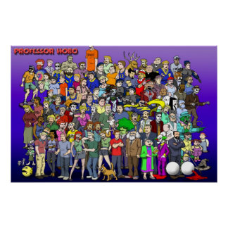 Professor Hobo cast photo (2010) Poster