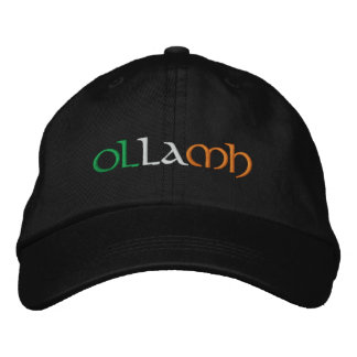 """Professor"" Irish Gaelic Flag Colors Embroidered Embroidered Baseball Cap"