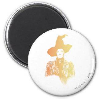 Professor Minerva McGonagall 2 Inch Round Magnet