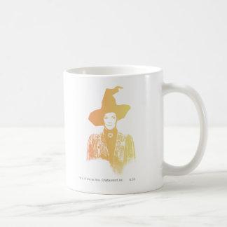 Professor Minerva McGonagall Classic White Coffee Mug