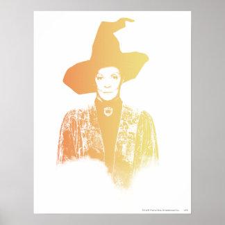Professor Minerva McGonagall Poster
