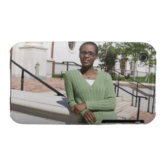 Professor on campus iPhone 3 cover