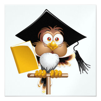 Professor Owl Invitation