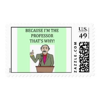 PROFessor Postage Stamp