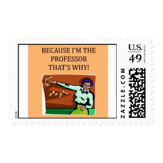 PROFessor Postage Stamps