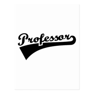 Professor Postcard