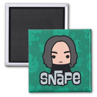 Professor Snape Cartoon Character Art Magnet