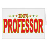 Professor Star Tag Cards