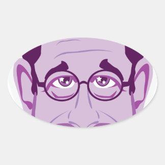 Professor Oval Sticker