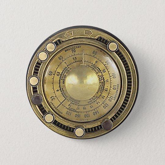 Professor Temple's Adaptive Marconiscope Pinback Button