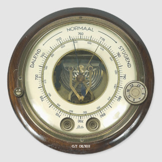 Professor Temple's Baraethiometer Sticker
