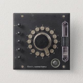 Professor Temple's Ether Condenser Pinback Button