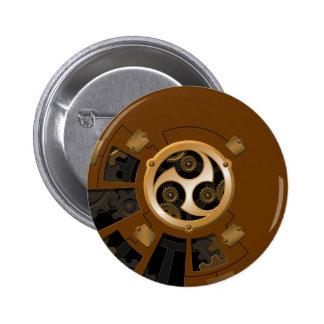 Professor Temple's Mechanical Enhanement 2 Inch Round Button