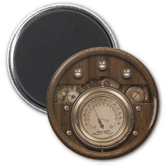 Professor Temple's Multiphasic Obfuscator 2 Inch Round Magnet
