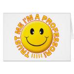 Professor Trust Me Smile Cards