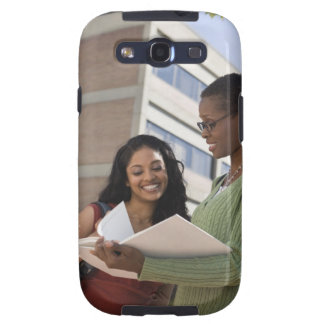 Professor with student samsung galaxy SIII cover