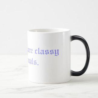 Professors are classy individuals. magic mug