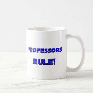 Professors Rule! Classic White Coffee Mug