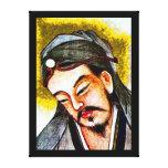 Profeta chino impresiones en lienzo estiradas