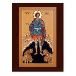 Profeta Daniel en la tarjeta del rezo de la guarid Tarjetas Postales