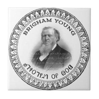 ¡Profeta de Brigham Young de la edición del Azulejo Cuadrado Pequeño