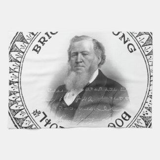 ¡Profeta de Brigham Young de la edición del Toalla