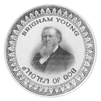 ¡Profeta de Brigham Young de la edición del Plato
