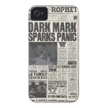 Profeta diario Front Page Case-Mate iPhone 4 Protectores