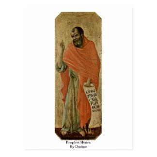 Profeta Hosea por Duccio Postal
