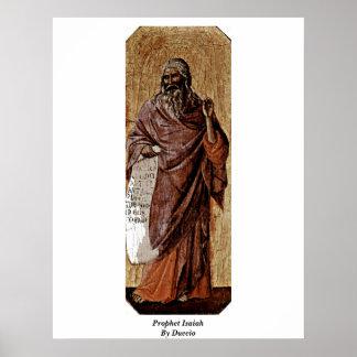 Profeta Isaías por Duccio Poster