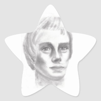 Profeta mormón de Joseph Smith LDS Calcomanias Forma De Estrella
