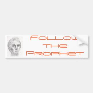 Profeta mormón de Joseph Smith LDS Pegatina Para Auto