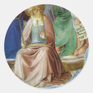 Profetas detalle por Fra Angelico Pegatinas