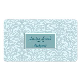 Proffesional elegant damask business cards