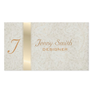 Proffesional elegant monogram business card
