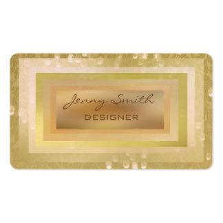 Proffesional glamorous elegant bokeh business card templates