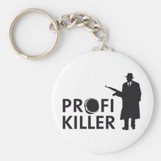 profi killer llavero redondo tipo pin