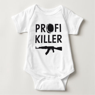 profi killer mameluco de bebé