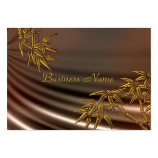 Profile Card Asian Bamboo Silk Large Business Card