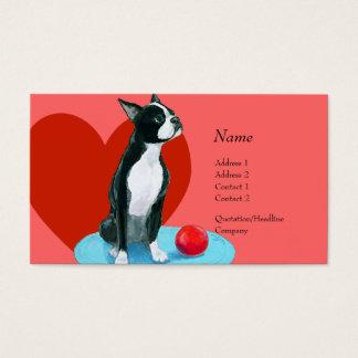 Profile Card - Boston Terrier
