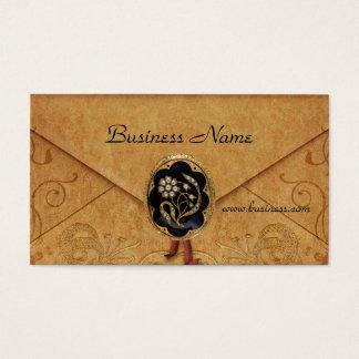 Profile Card Business Antique Envelope Jewel