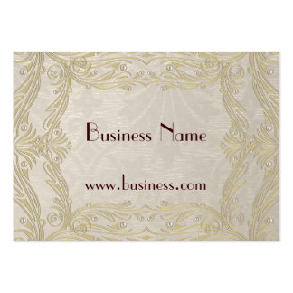 Profile Card Business Old Gold (021002) Business Card Template