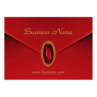 Profile Card Business Red Updated Large Business Cards (Pack Of 100)