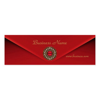 Profile Card Business Red Velvet Jewel