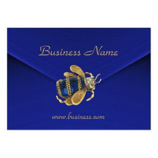 Profile Card Business Rich Blue Velvet Beetle