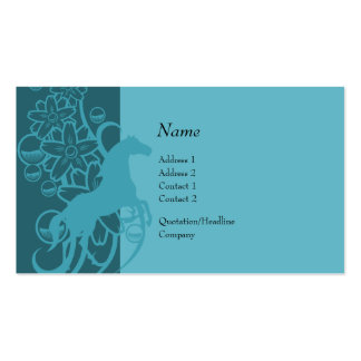 Profile Card - Decorative Horse