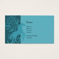 Profile Card - Decorative Horse at Zazzle