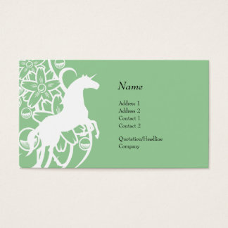Profile Card - Decorative Unicorn